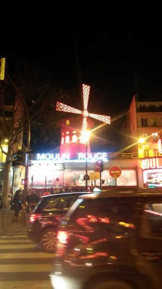 Moulin Rouge, Paris 2014
