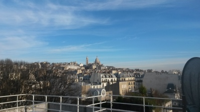 A View of Sacre Coeur, Paris 2015