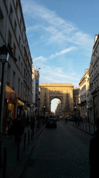 Into the Archway, Paris 2015