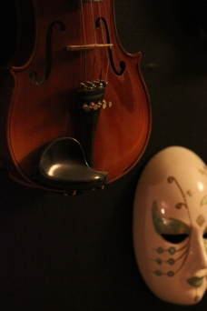 Violin and Mask 2012
